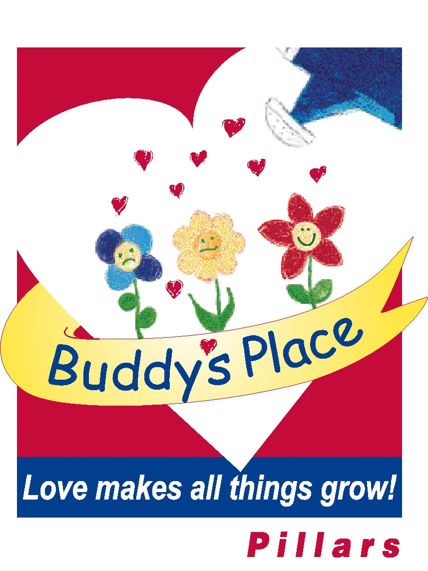 Buddy's Place Illustrated Logo Graphic