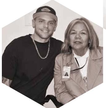 Paul Martinkus with Anita Casey