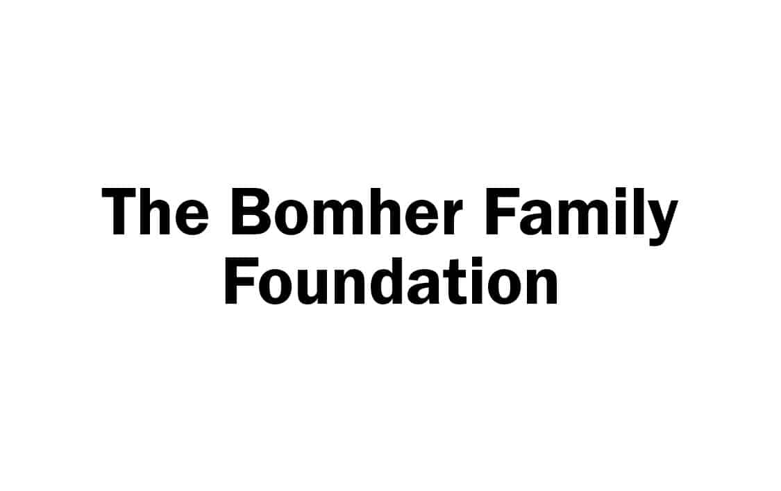 The Bomher Family Foundation words