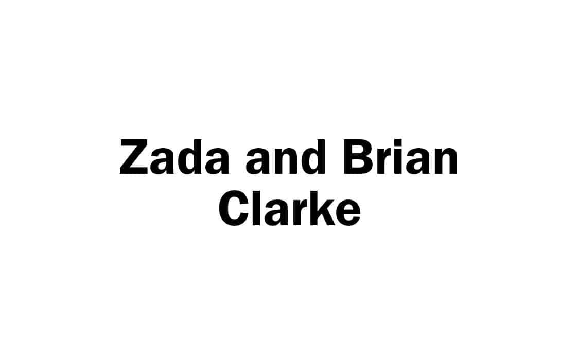 Zada and Brian Clarke names