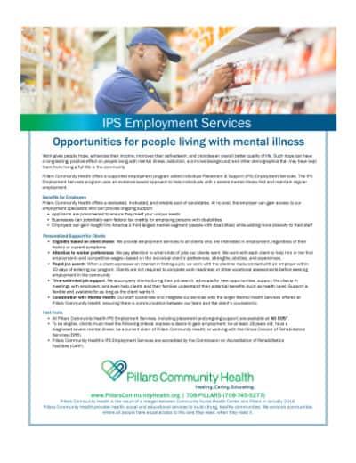 Marketing Flyer - IPS Employment Services