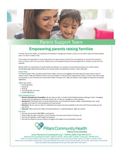 Marketing Flyer - Parent Support Team