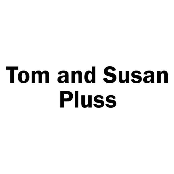 Tom and Susan Pluss Sponsor Logo