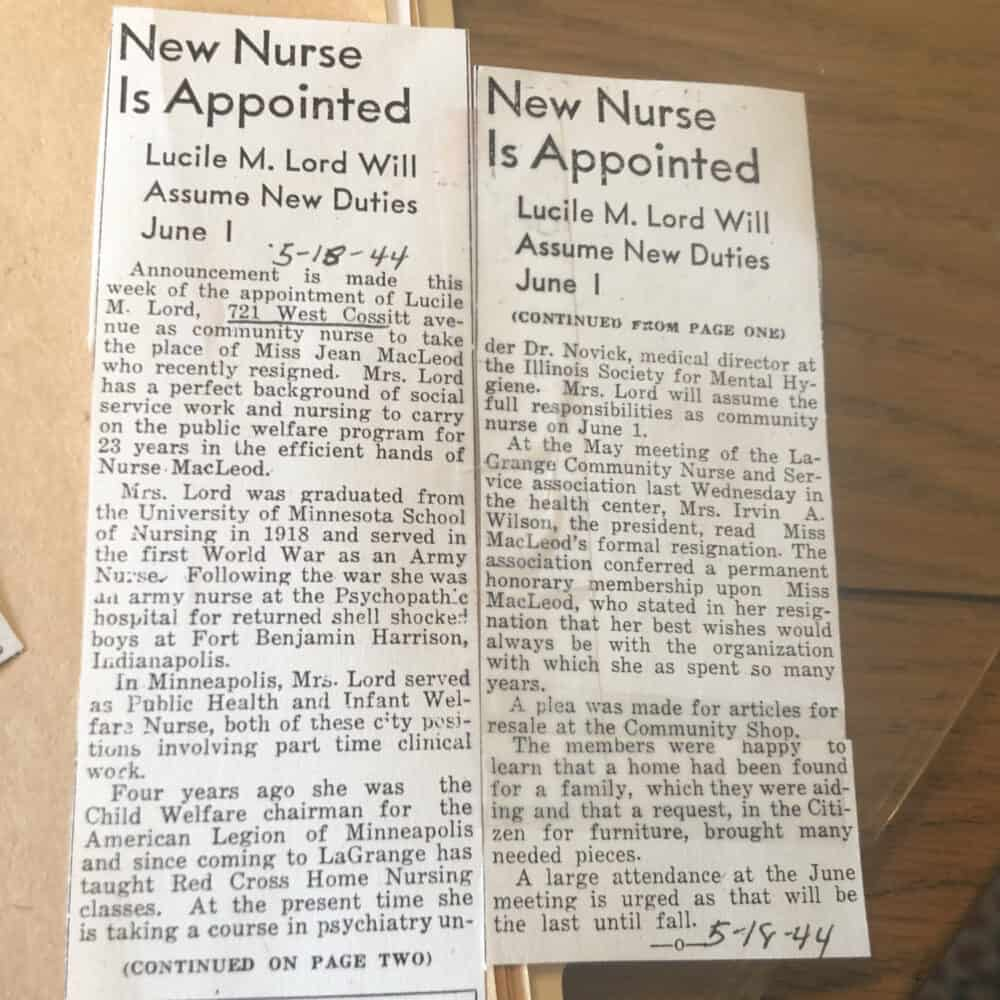 1940s newspaper articles
